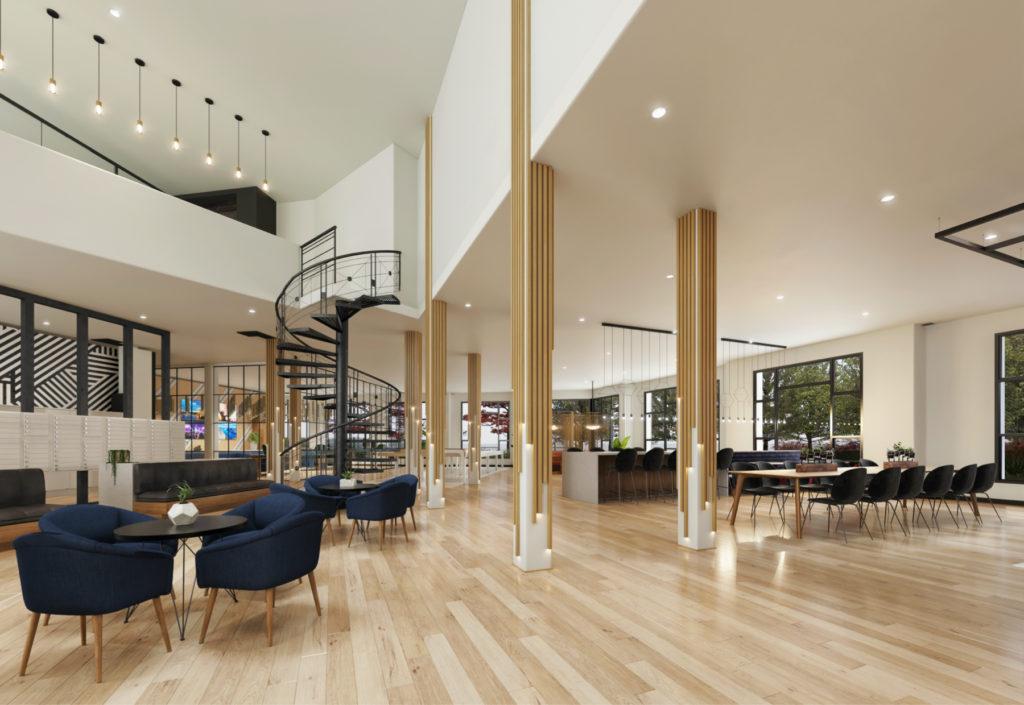 Foyer lobby shot